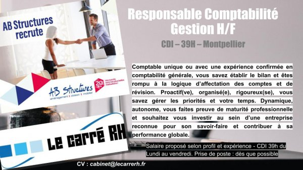 AB STRUCTURES RECRUTE